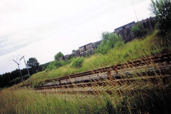 Bocznica kolejowa na lotnisko w Podczelu